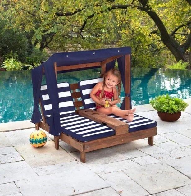 KidKraft Adirondack Chair With Umbrella (3+ Years) New