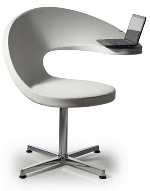 Unusual office chairs Minimalist Office Furniture Stylish Unique Wave Office Chair With Laptop Desk Pinterest Furniture Stylish Unique Wave Office Chair With Laptop Desk