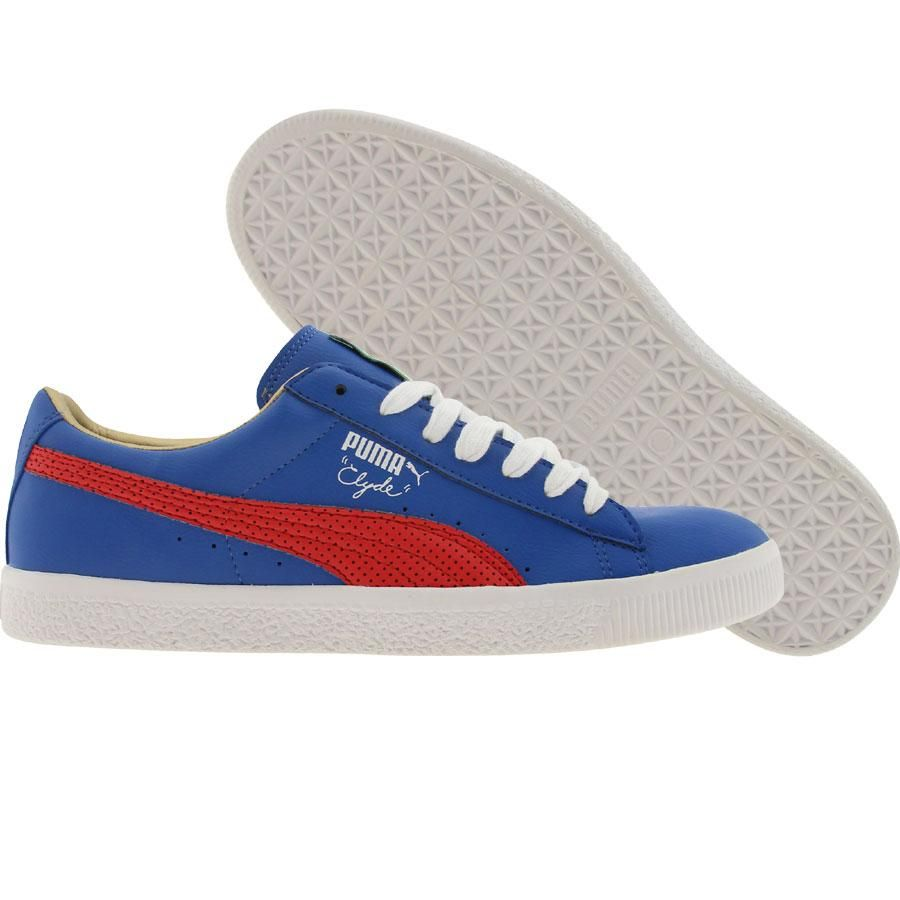 808c6f79568 Puma Clyde Leather Games shoes in blue