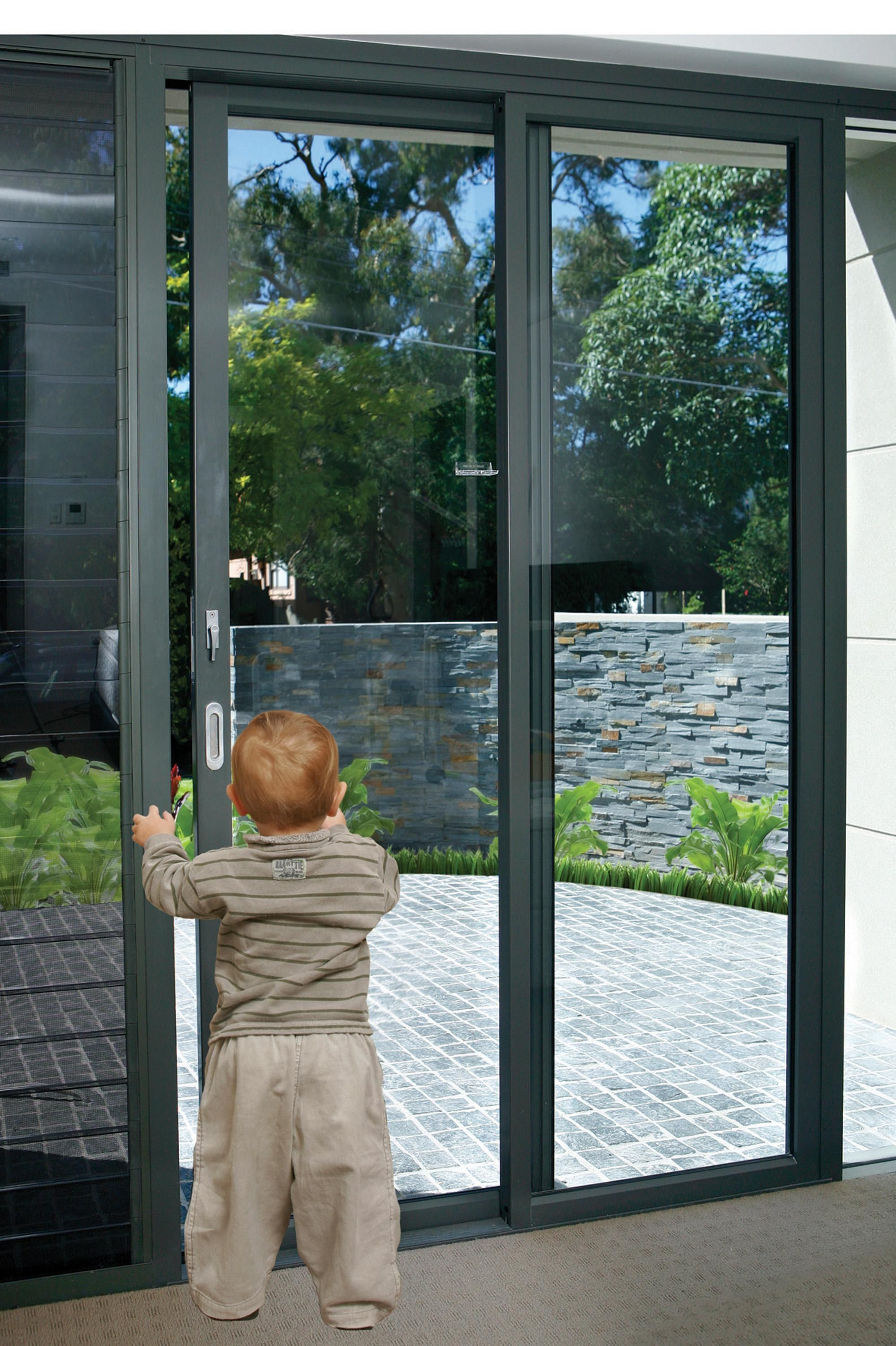 Padiolok helps you go out your patio door to play