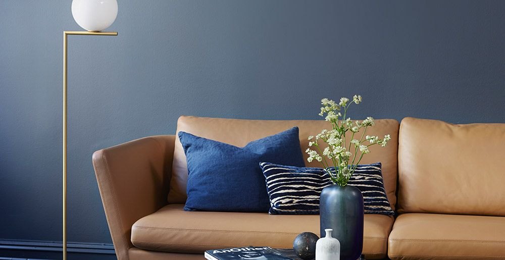 jotun 4470 deco blue | Nesting 2.0 | Pinterest | Wall colors, Living ...