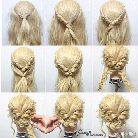 Easy Formal Hairstyles Pinclivia Nötzli On Frisur  Pinterest  Hair Style Makeup And