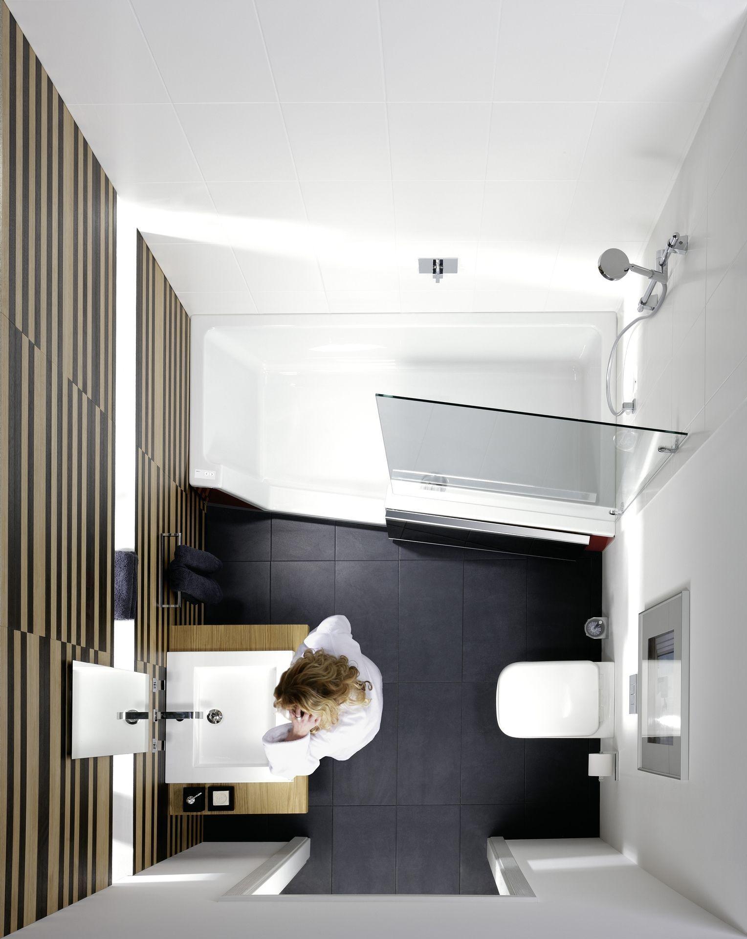 Badezimmer: Die richtige Wanne für kleine Räume - bauemotion.de ...