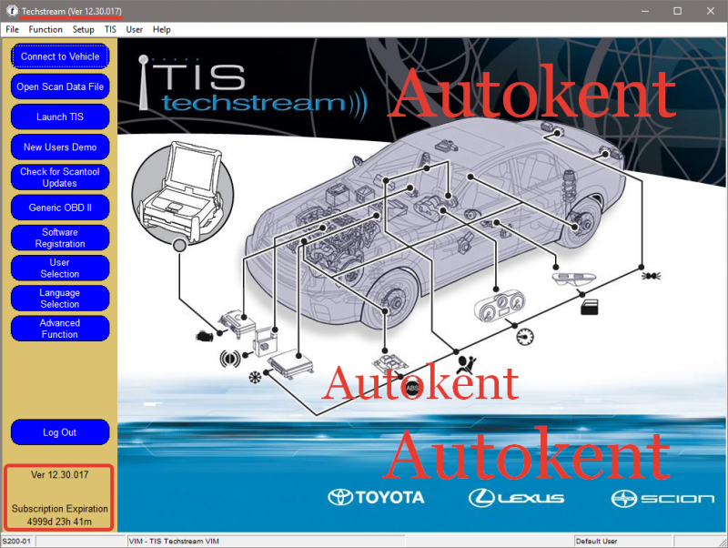 TOYOTA Techstream V12 30 017 Free Download   Auto Software Download
