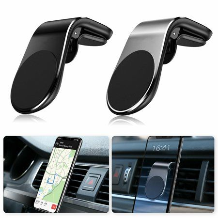 Newest Strong Magnetic Car Air Vent Mount 360 Degree Rotation Universal Phone Holder with Package for Mobile Phone Golden