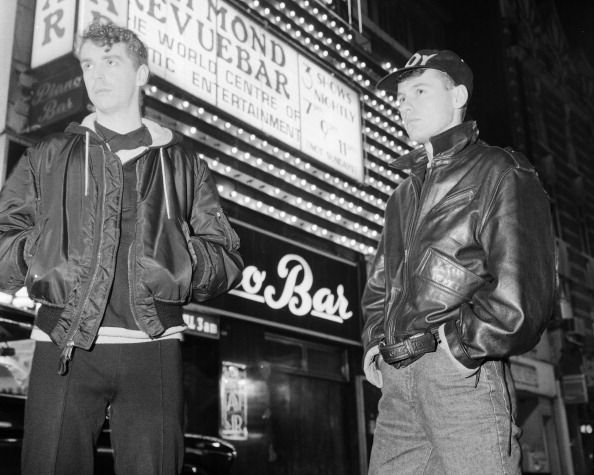 Singer Neil Tennant and keyboard player Chris Lowe of