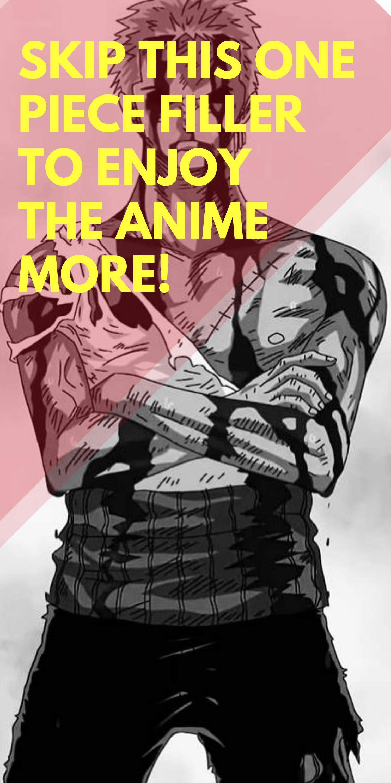 Ultimate One Piece Filler List One piece, Anime, Studio