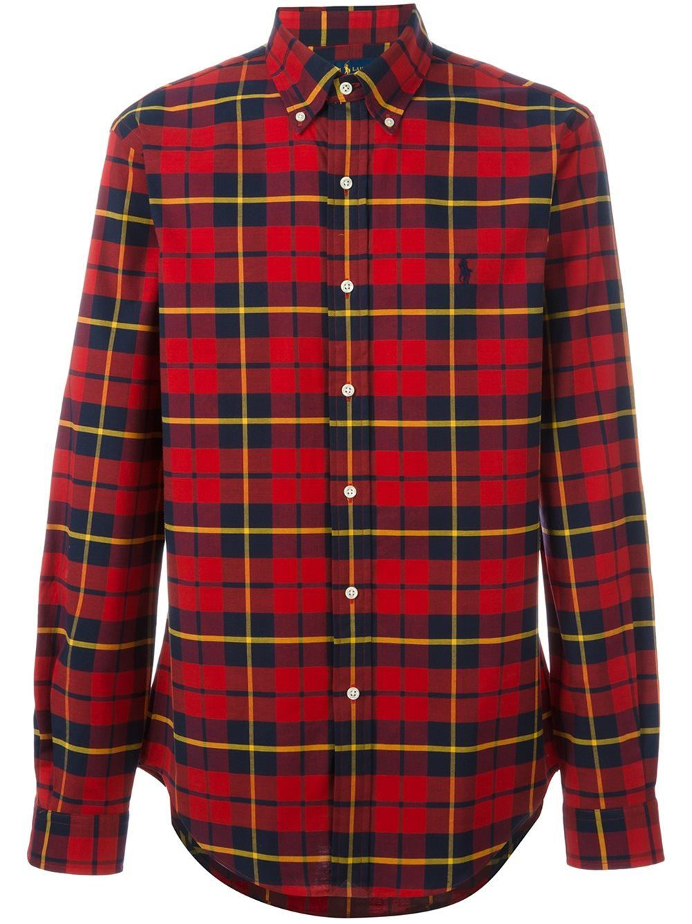 Polo Ralph Lauren Shirts Red Fashion | Polo Ralph Lauren Plaid Shirt Mens