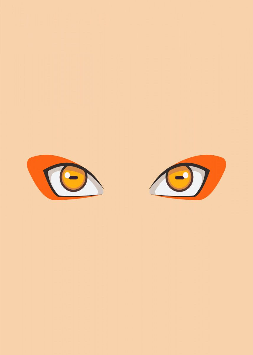 'naruto eye' Poster by Fill Art   Displate