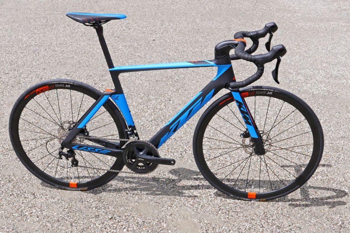 2018 Ktm Revelator Lisse Aero Road Bike Gets Clean Creative Cable