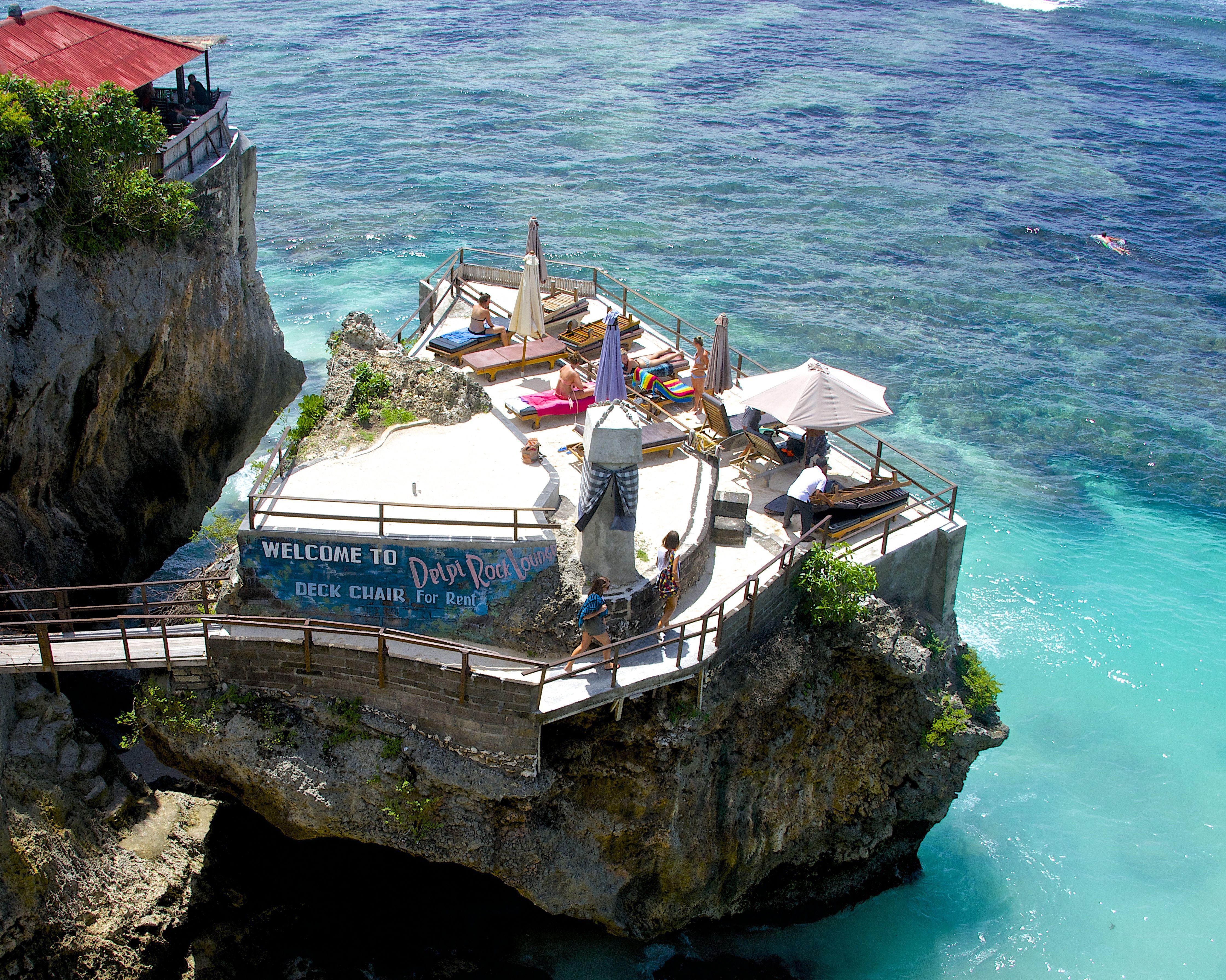 Delpi Rock Lounge Uluwatu Absolutely beautiful place It