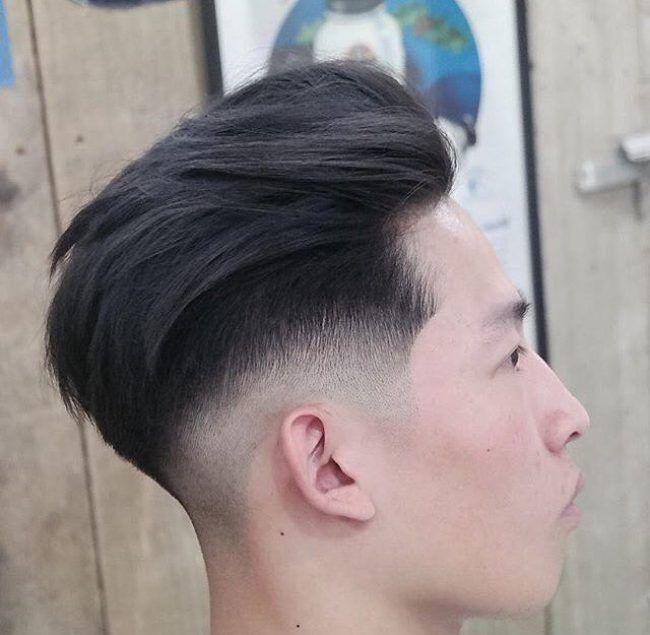 Skillful Trim Asian Hair Undercut Hairstyles Hair Styles