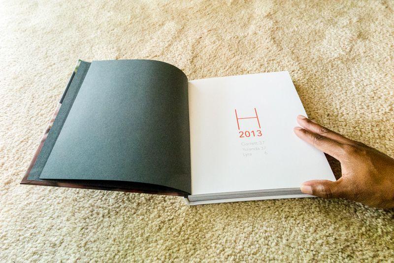 8x10 blurb family yearbook