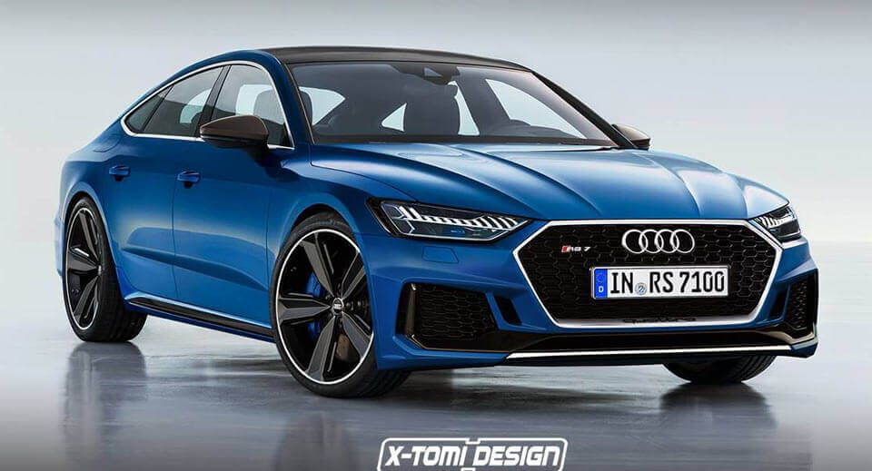 2019 Audi Rs7 Sportback Render Is A Sign Of Things To Come Cars