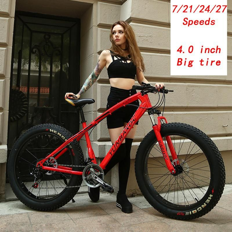 High Grade Snow Bike 4 0 Inch Wide Tire Mountain Bike Adult Male