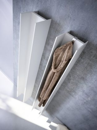 Radiateur électrique, séche- serviette à l\'horizontal ou ...