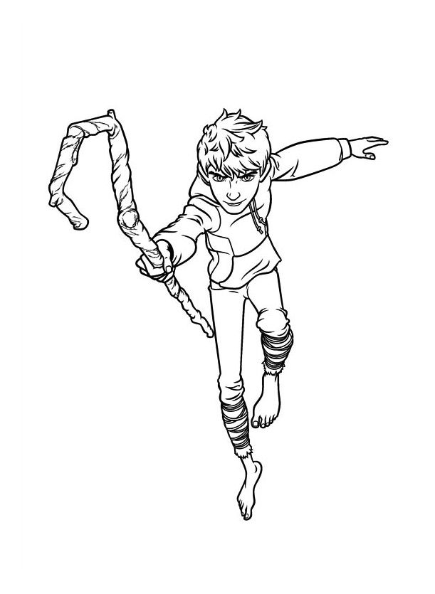 5 Legends Is An Animated Dreamworks Movie Released In Late 2012 It Depicts Five Fantastic Characters Rise Of The Guardians Coloring Pages Coloring For Kids