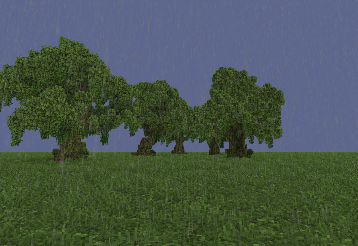 Trees Pack1 Gnarly Oaks Schems Conquest Reforged Textures Minecraft Project Gnarly Tree Oaks