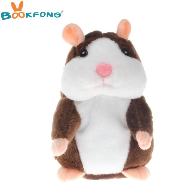 Talking Hamster Plush Toy Sound Record Speaking Hamster Talking Baby CUTE Toys O