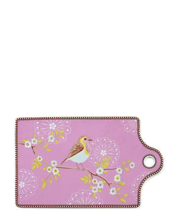 Early Bird Servierbrett pink von PiP Studio