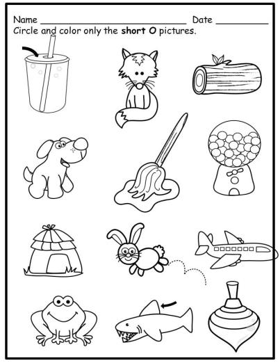 worksheets, short vowels, answer keys, phonics Alphabet