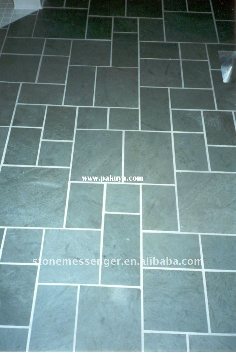 Green Slate Tile Google Search Slate Roof Tiles Slate Roof Slate Flooring