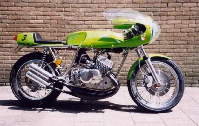 Rickman Framed Kawasaki Triple