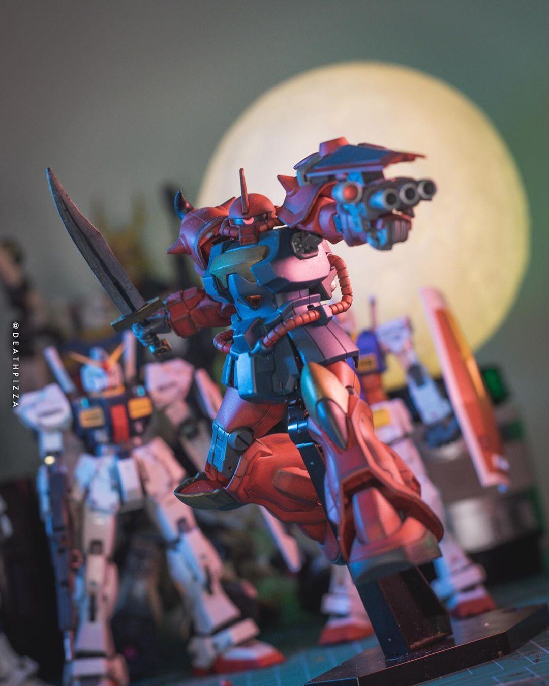 Custom Red Gauf. #GUNDAMSTAGRAM #gundam #bandai #gunpla #mobilesuit #mecha #buildfighters #anime #toys #toy #otaku #plamo #plasticmodel #hobby #gundambuilder #gunplabuilder #nerd #geek #toycrewbuddies #toypops3 #canonphotography #moongundam