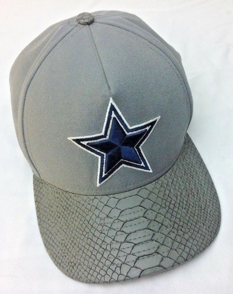 f2a24b5c Details about dallas cowboys 9fifty nfl strapback cap with faux ...