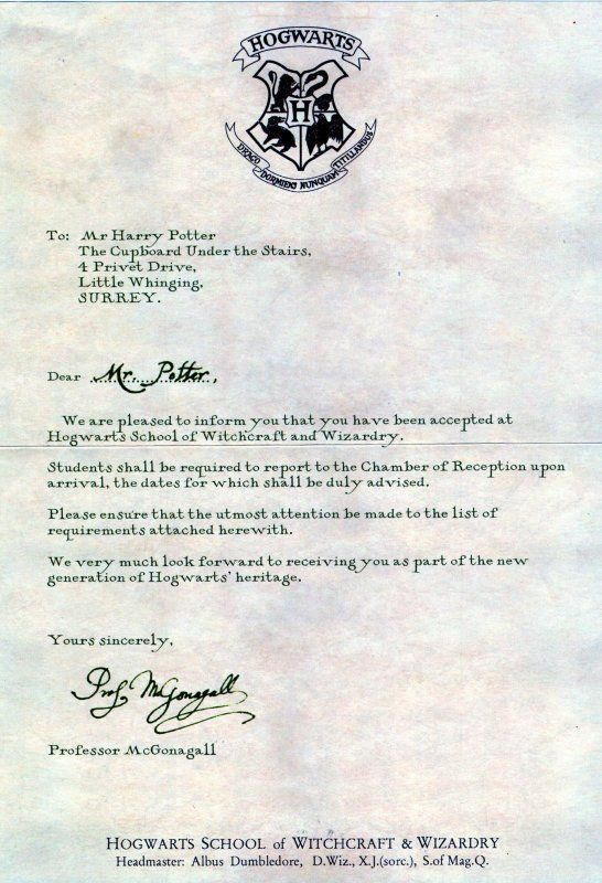 lettre harry potter invitation lettre harry potter | Harry potter | Pinterest | Harry  lettre harry potter