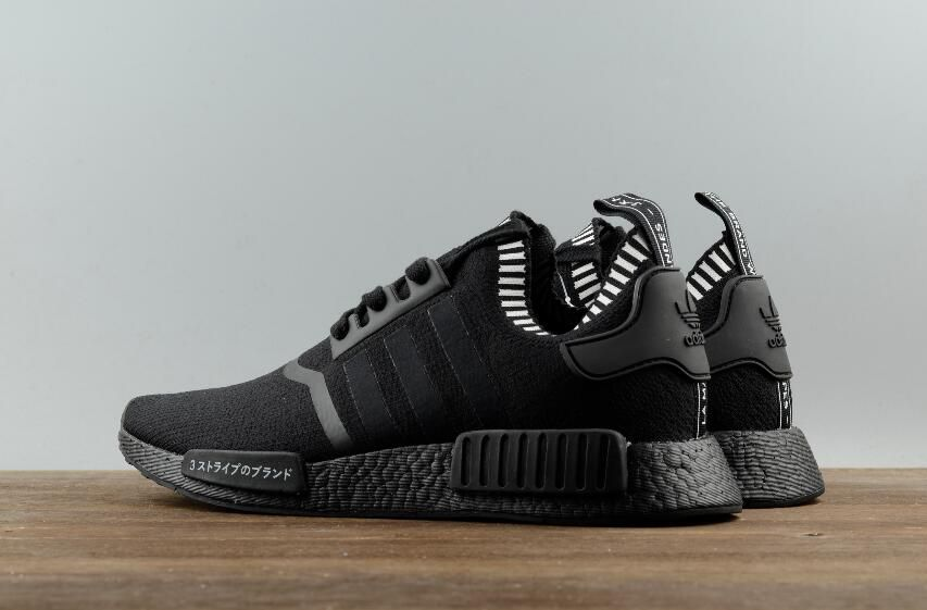 b51422ea2377d Adidas Originals NMD R1 Primeknit PK Triple Black S81849 Real Boost 9. Find  this Pin and more on Adidas NMD R1 ...