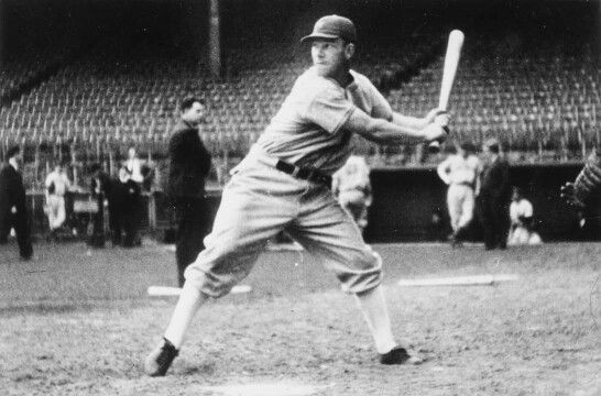 Mel Ott New York Giants The Outfield Hall Of Fame