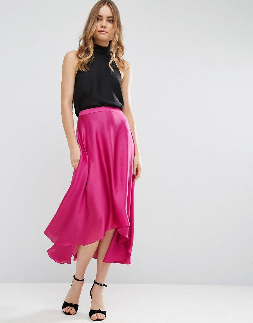 Get this Asos\'s knee skirt now! Click for more details. Worldwide ...
