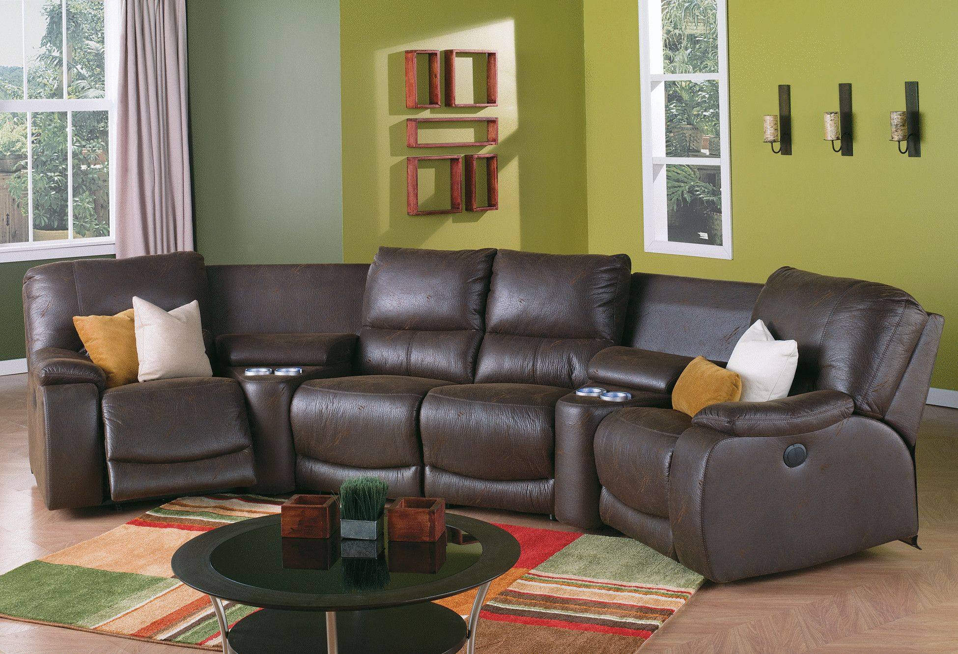 Palliser Norwood reclining sectional See it here