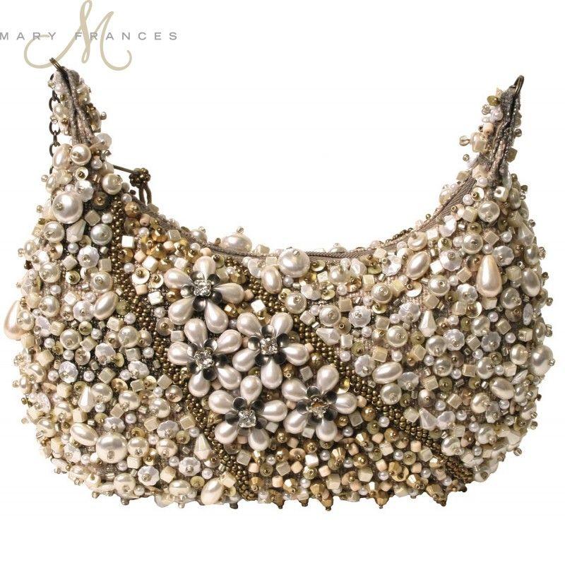 Sea of Pearls Mini Handbag