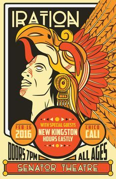 GigPosters.com - Iration - New Kingston - Hours Eastly