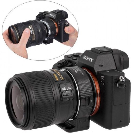 Vello T Mount Lens to Sony Alpha Camera Adapter