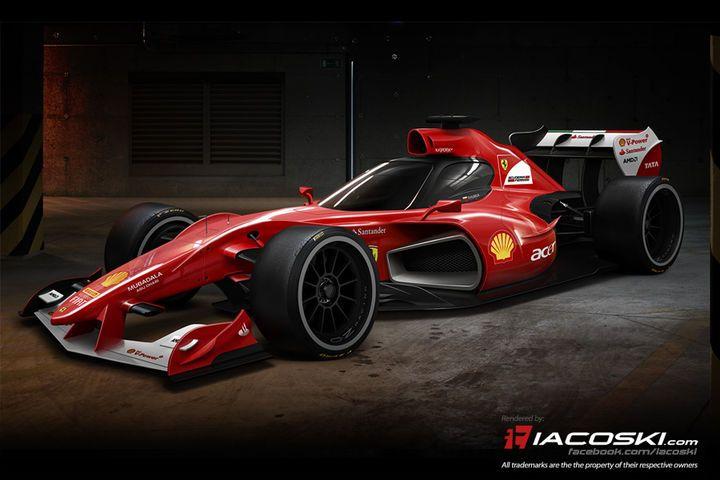 F1-Concept FX-i1: Ist das die Zukunft der Formel 1? - AUTO MOTOR UND SPORT