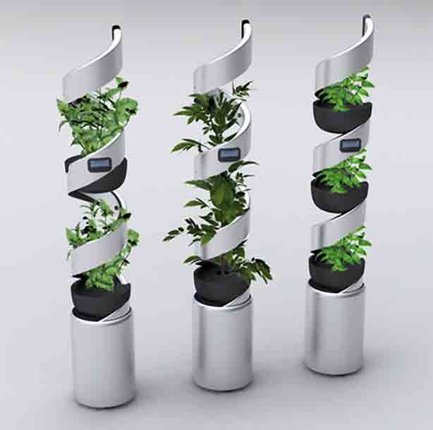 Edn Vertical Garden System For Growing Up To