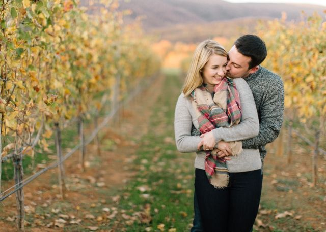 King family vineyard kelsey alexs engagement session the mallorys