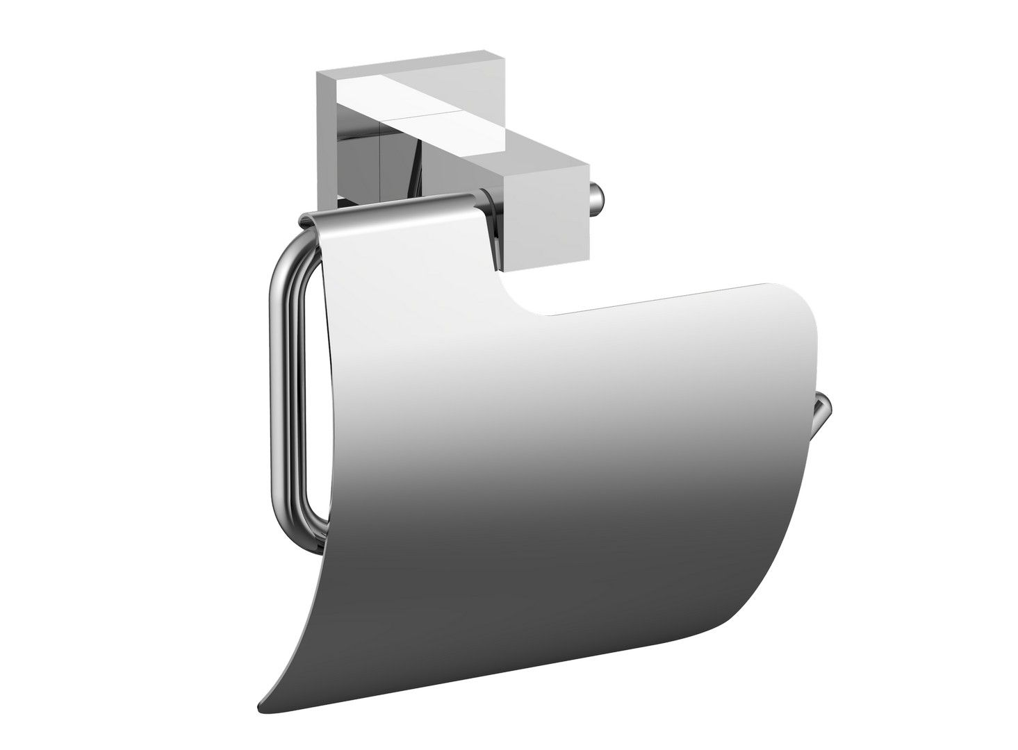 Eviva Toilet Paper Holdy Toilet Paper Holder Brushed Nickel