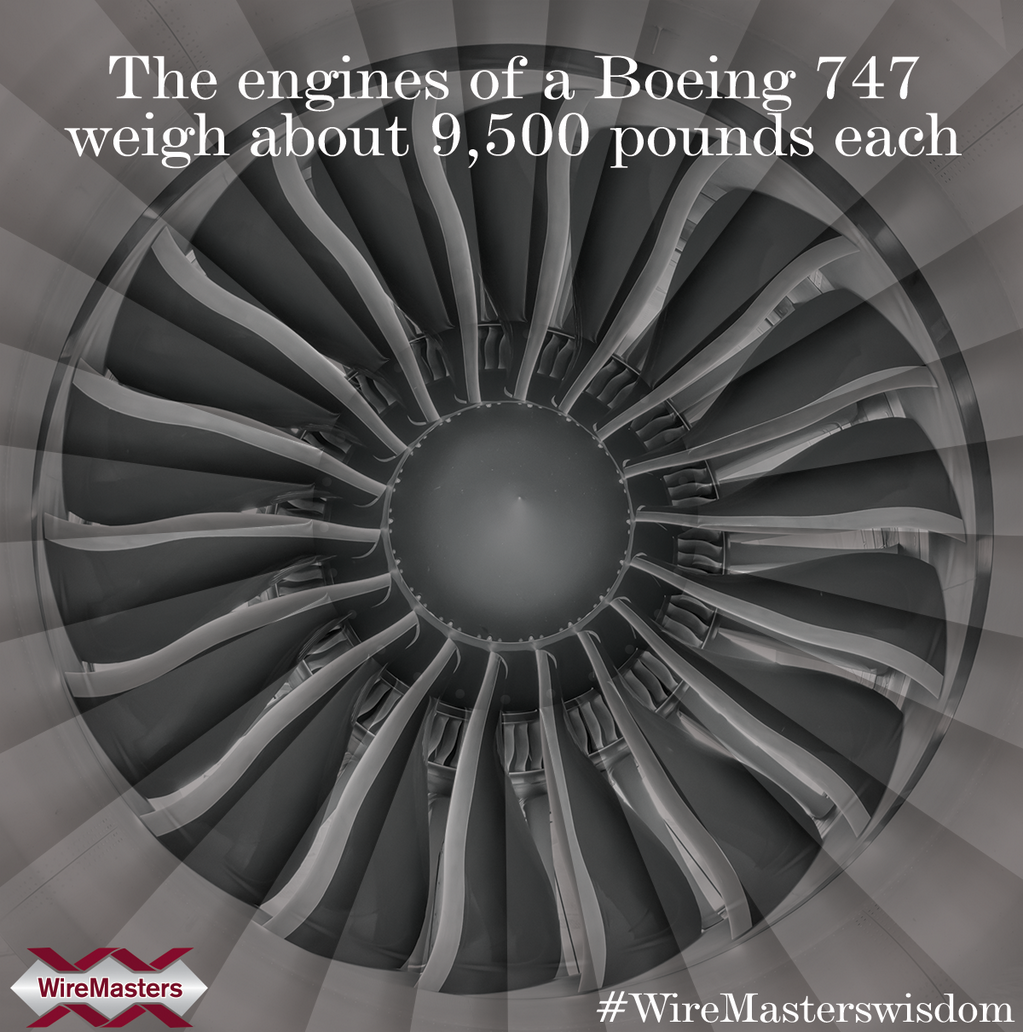 WireMasters, Inc. on | Pinterest | Boeing 747, Engine and Aviation