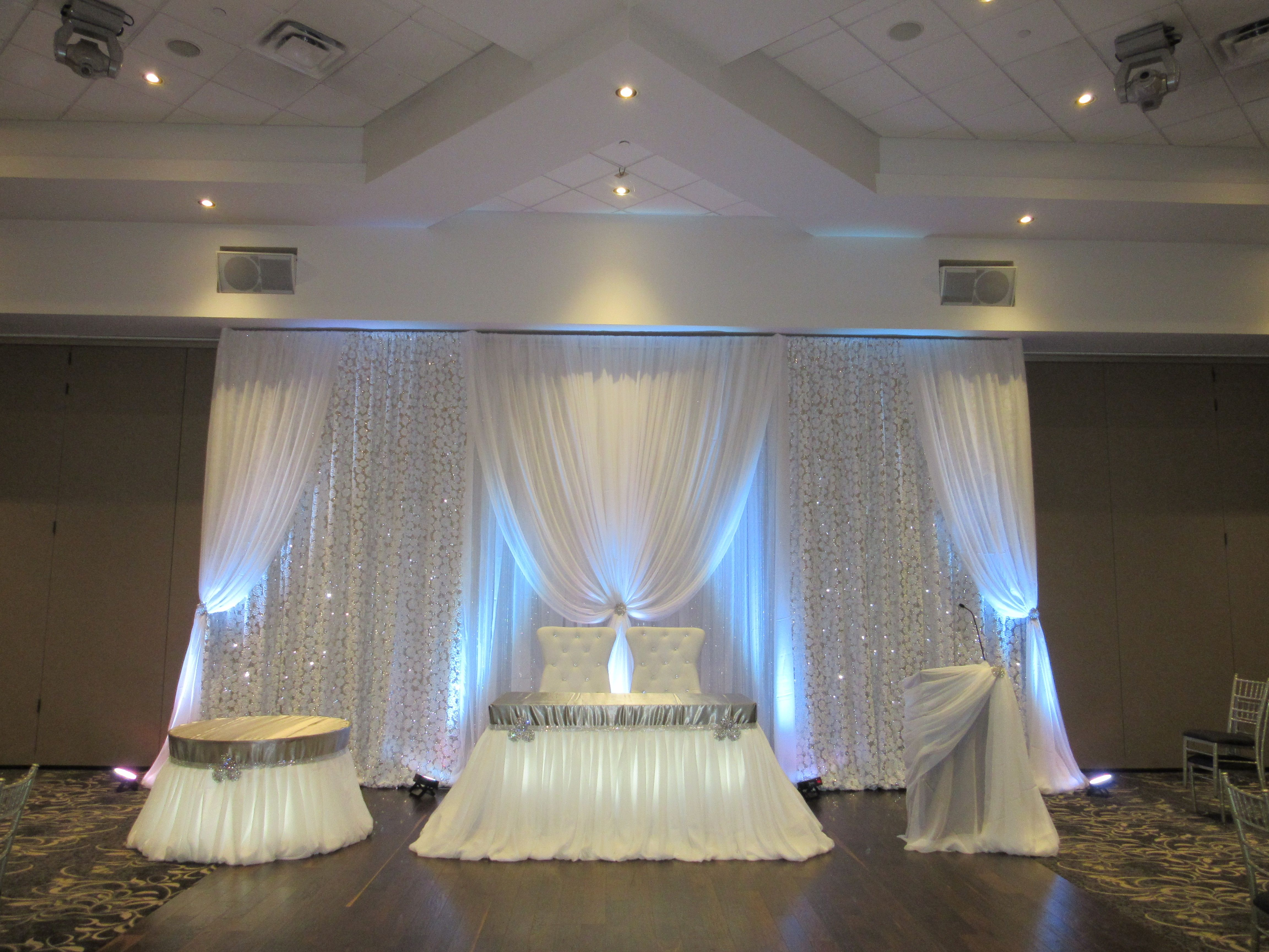 Wedding Backdrops By Mega City Group #Wedding #Decor #Backdrop
