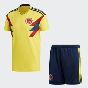 d4d3daf33e9 2018 World Cup Kit Colombia Home Replica Yellow Suit [BFC355 ...