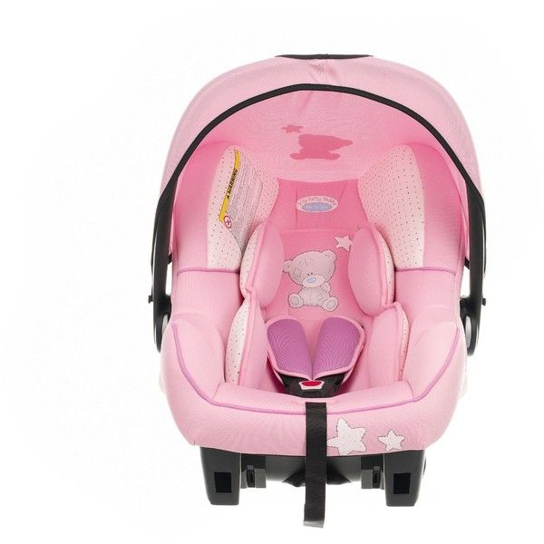 Tiny Tatty Teddy Group 0+ Car Seat Dusky Pink found on Polyvore feat
