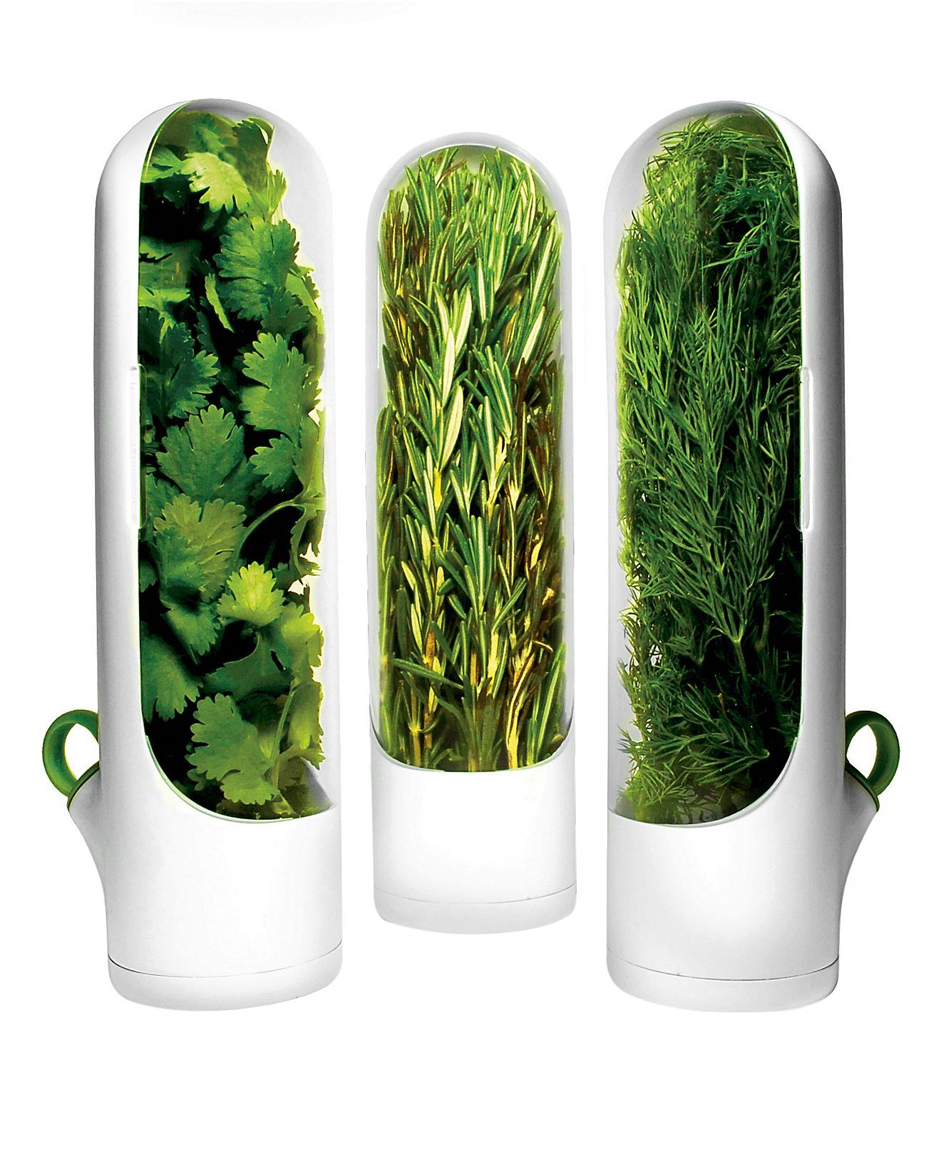 Prepara Herb Containers, Set of 3 Mini Herb Savors at Macy's