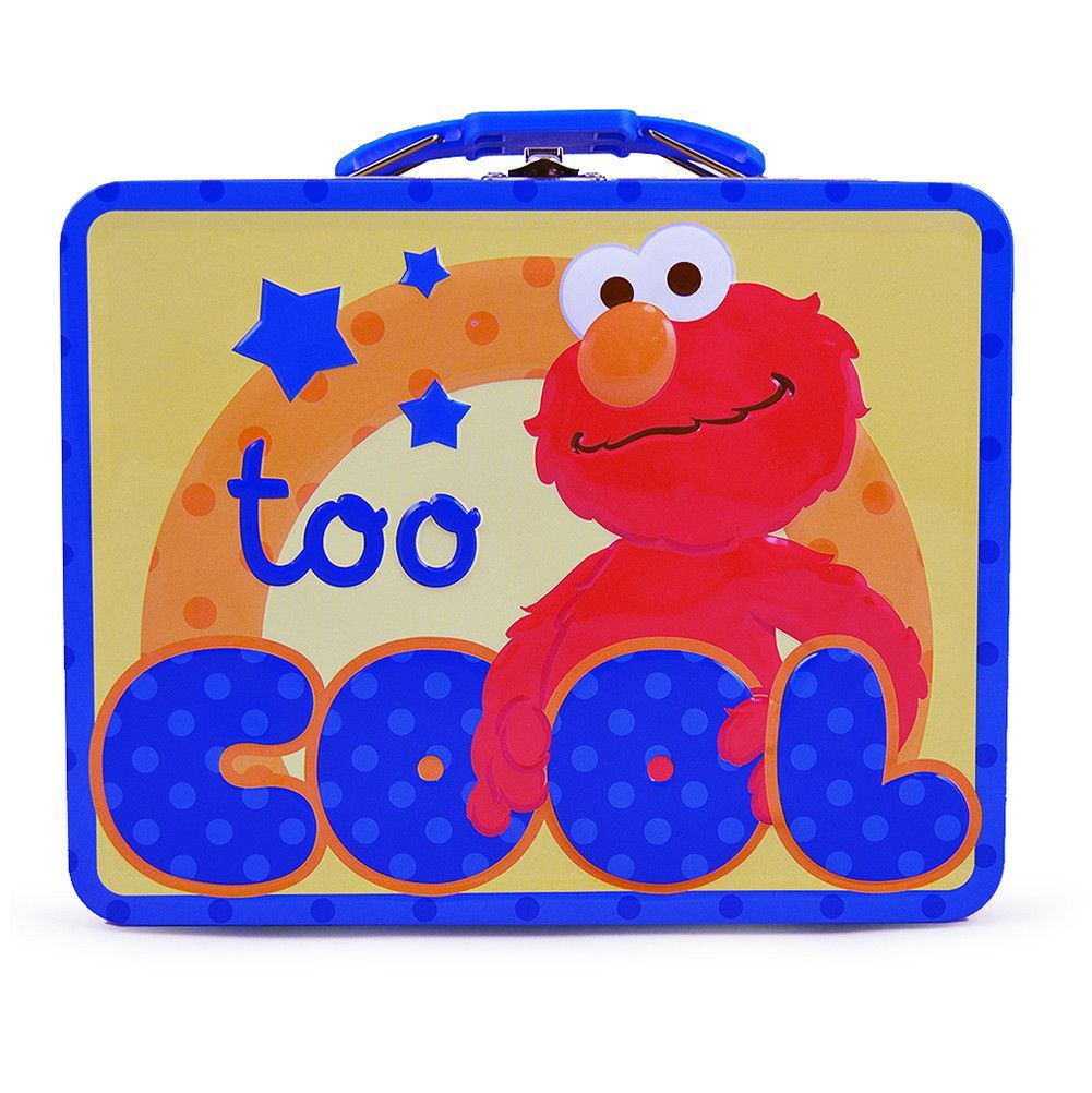 Elmo Tin Lunch Box - Too Cool!
