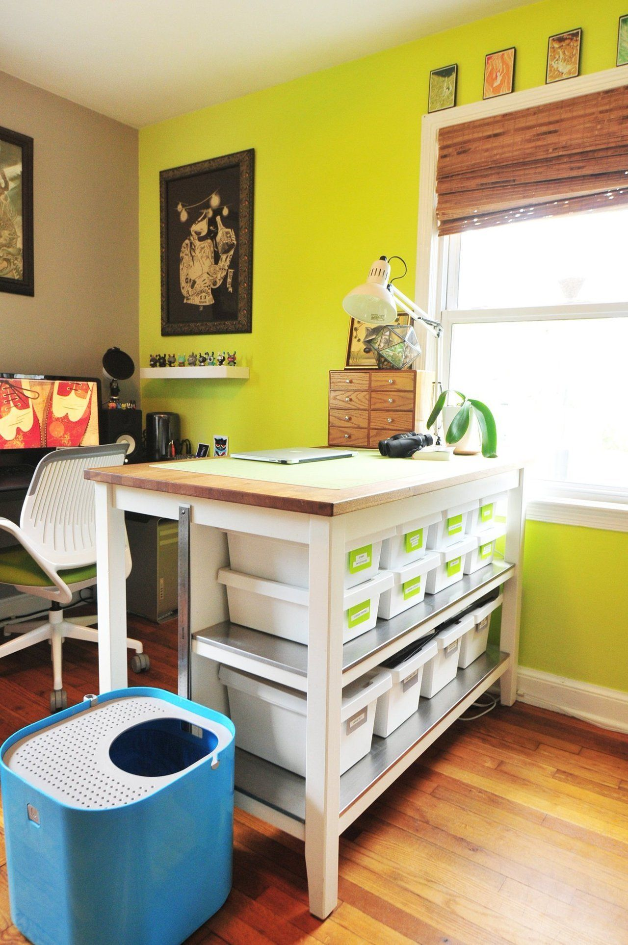 House Tour: A Colorful and Animated Abode | Spaces, Room and Ikea ...