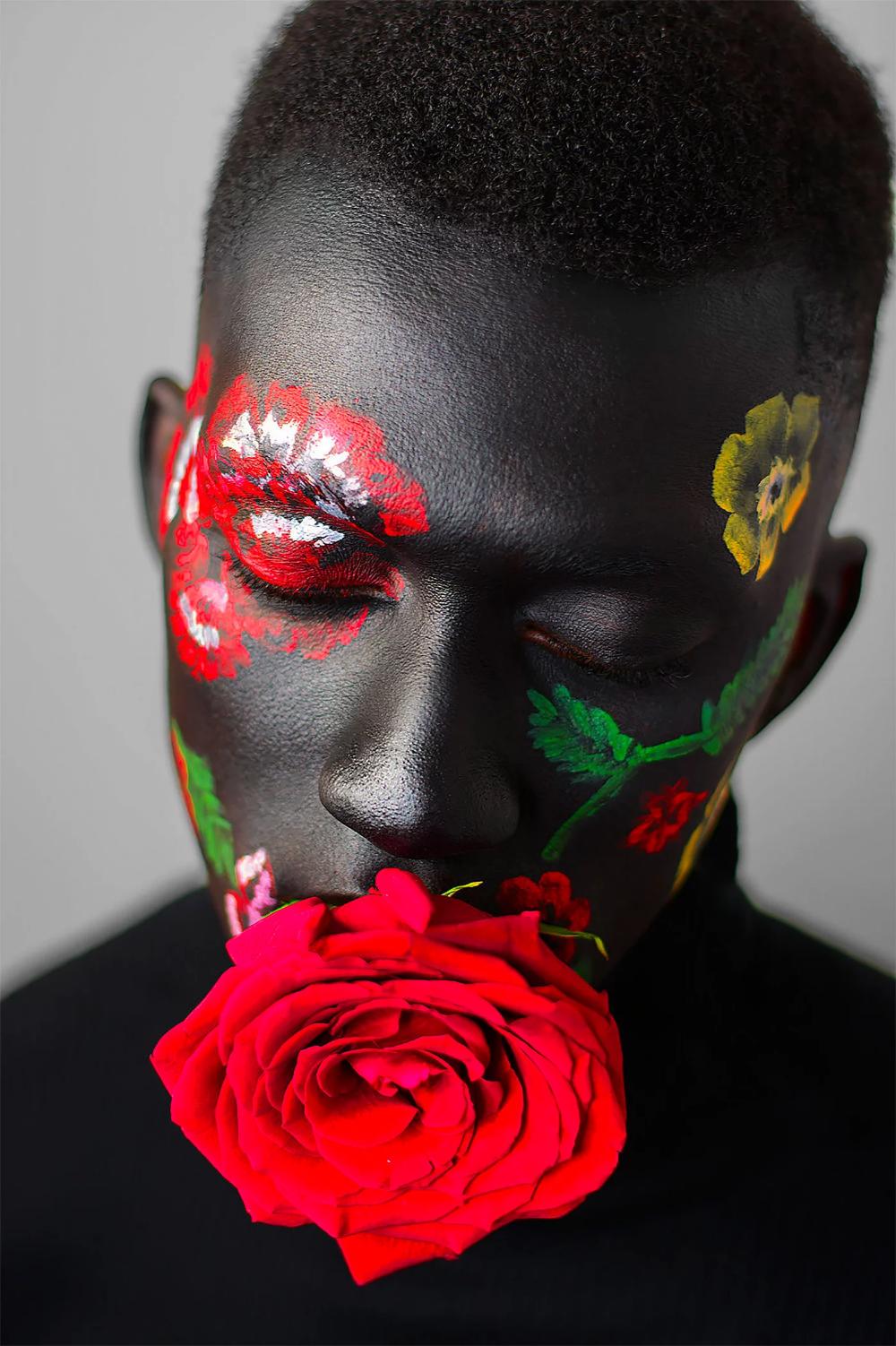 Adam Eve Amazing Floral Portraits