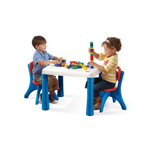 Step2 Table & Chair Set - Primary Colors - Step2 - Toys \
